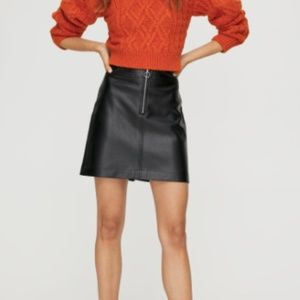 Leather Skirt (of your dreams)